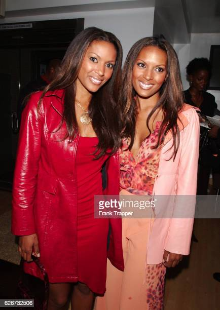 Rosie and Renee Tenison during a launch party for photographer Matthew Jordan Smith's new book Sepia Dreams