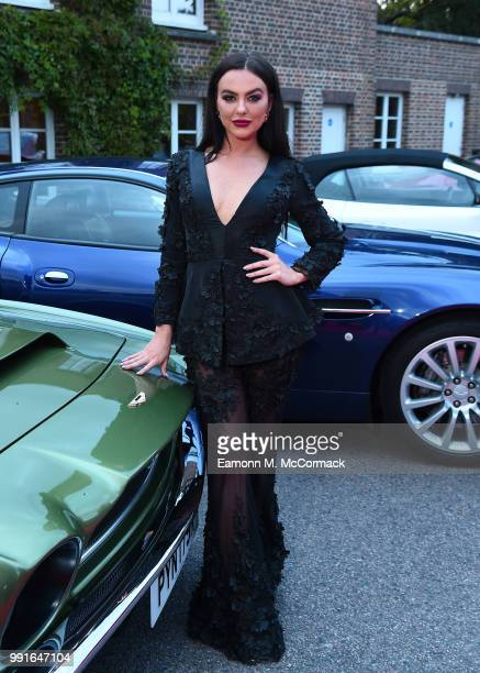 Rosie Anna Williams attends the 2018 Grand Prix Ball held at The Hurlingham Club on July 4 2018 in London England