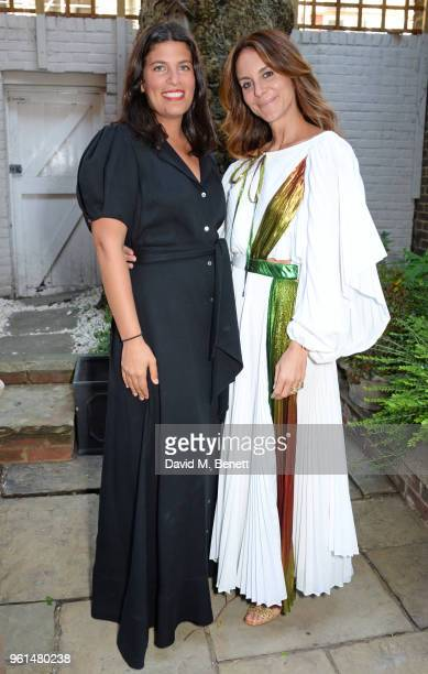 Rosie Assoulin and Alison Loehnis attend the NETAPORTER dinner hosted by Alison Loehnis to celebrate the launch of Rosie Assoulin's exclusive...