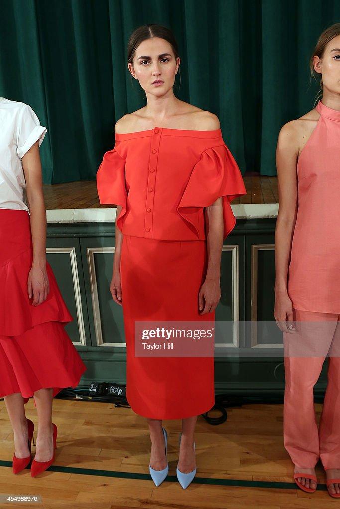 Rosie Assoulin - Presentation - Mercedes-Benz Fashion Week Spring 2015 : News Photo