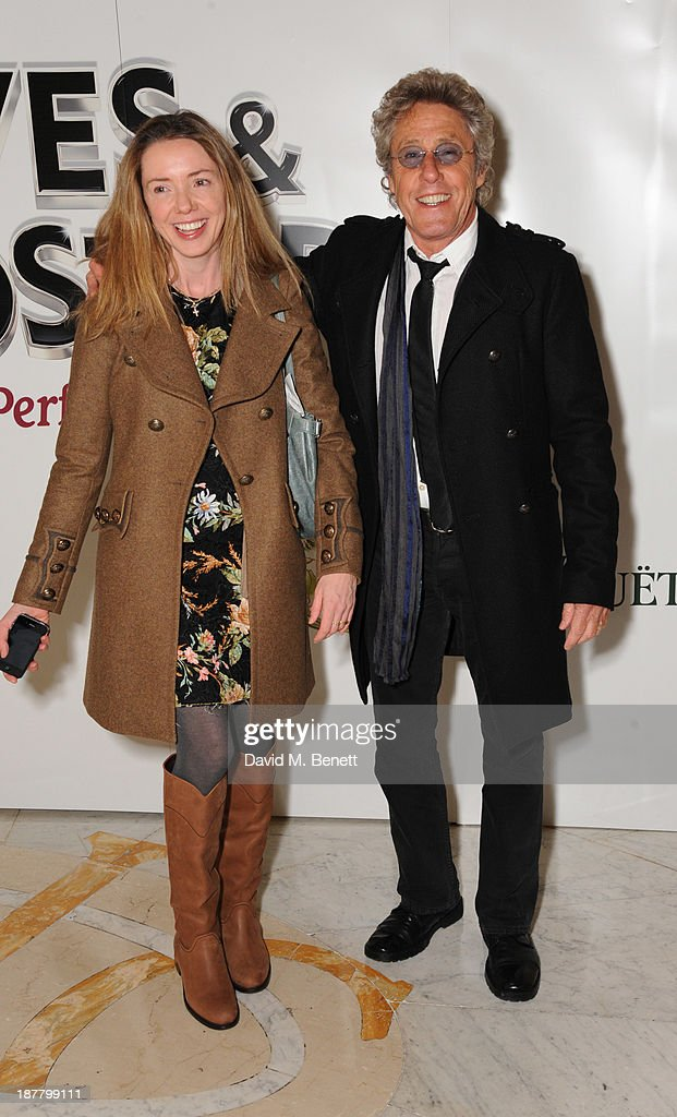 Rosie Daltrey and Roger Daltrey attends an after party celebrating the press night performance of 'Perfect Nonsense' at the The Royal Horseguards on November 12, 2013 in London, England.