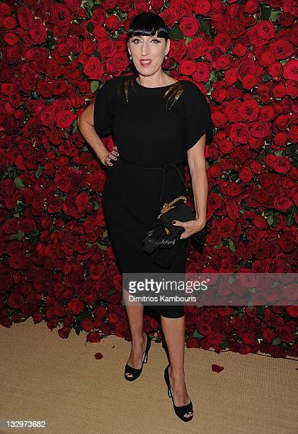 Rosie de Palma attends the Museum of Modern Art's 4th Annual Film benefit A Tribute to Pedro Almodovar at the Museum of Modern Art on November 15...