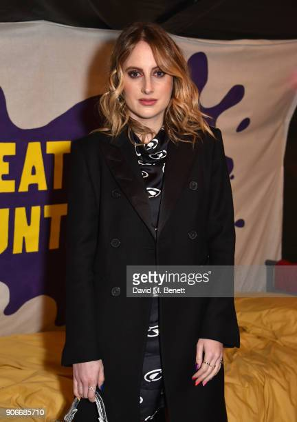 Rosie Fortescue attends the Grand Opening of the Cadbury Creme Egg Camp on January 18 2018 in London England