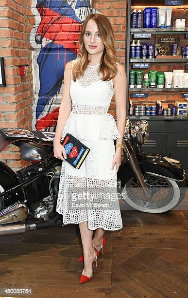 Rosie Fortescue attends the Kiehl's Pioneers By Nature Party at the Kiehl's Regent Street Store on July 9, 2015 in London, England.