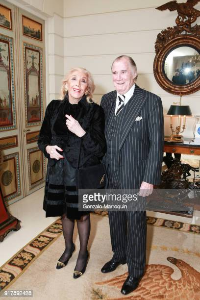 Rosie Heffernan and Jack Heffernan during the Susan Gutfreund Hosts UN Women For Peace Association Reception on February 12 2018 in New York City