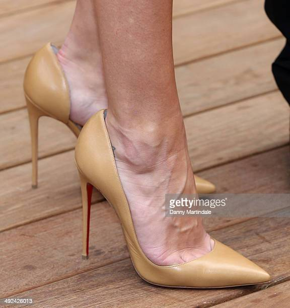 Rosie Huntington Whiteley attends a photocall to launch the 25th anniversary Magnum short film by Wim Wenders at the 67th Annual Cannes Film Festival...