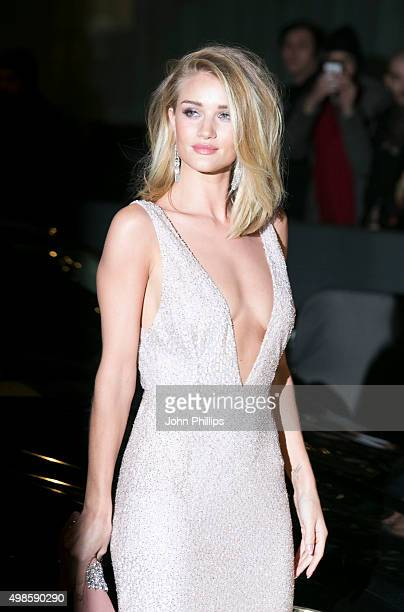 Rosie Huntington Whiteley attends the British Fashion Awards 2015 at London Coliseum on November 23 2015 in London England
