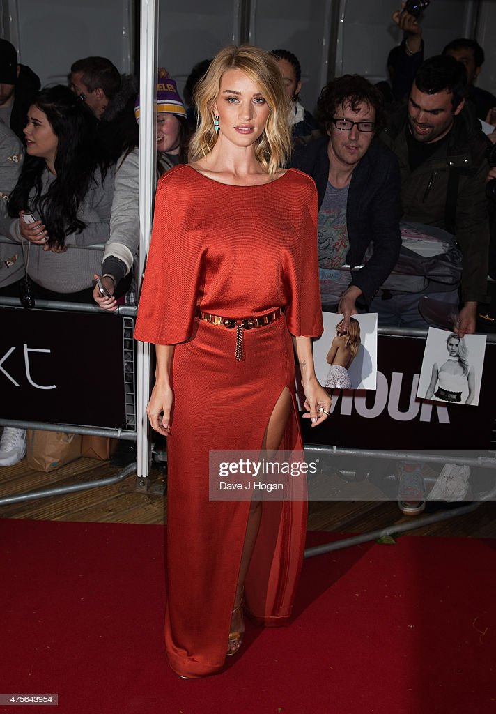 Rosie Huntington Whitely attends the Glamour Women of The Year Awards at Berkeley Square Gardens on June 2, 2015 in London, England.