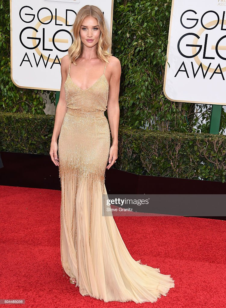 73rd Annual Golden Globe Awards - Arrivals : Foto jornalística