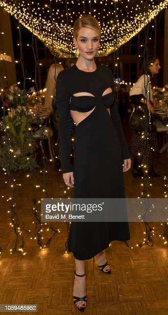 Rosie HuntingtonWhiteley attends bareMinerals' Global Wellness Retreat with beauty insiders and tastemakers at Soho Farmhouse on November 8 2018 in...