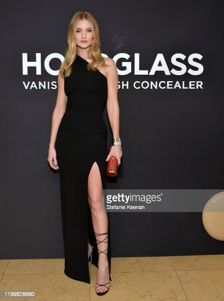 Rosie HuntingtonWhiteley attends Hourglass x Rosie HuntingtonWhiteley Launch Event at Sunset Tower on January 15 2020 in Los Angeles California