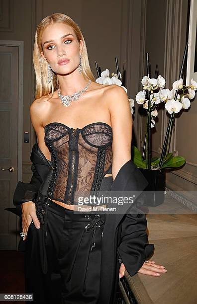 Rosie HuntingtonWhiteley attends NIRAV MODI Old Bond Street boutique launch on September 19 2016 in London England
