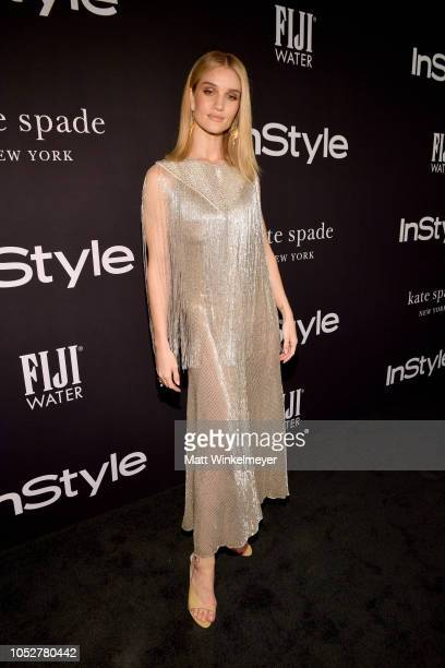 Rosie HuntingtonWhiteley attends the 2018 InStyle Awards at The Getty Center on October 22 2018 in Los Angeles California