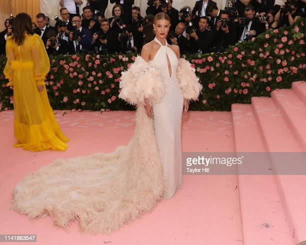Rosie HuntingtonWhiteley attends the 2019 Met Gala celebrating Camp Notes on Fashion at The Metropolitan Museum of Art on May 6 2019 in New York City