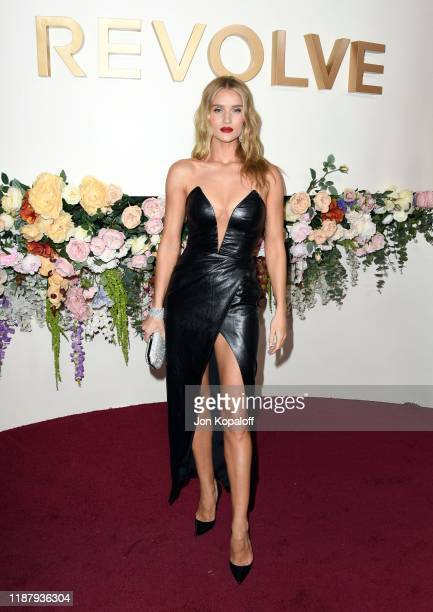 Rosie HuntingtonWhiteley attends the 3rd Annual #REVOLVEawards at Goya Studios on November 15 2019 in Hollywood California