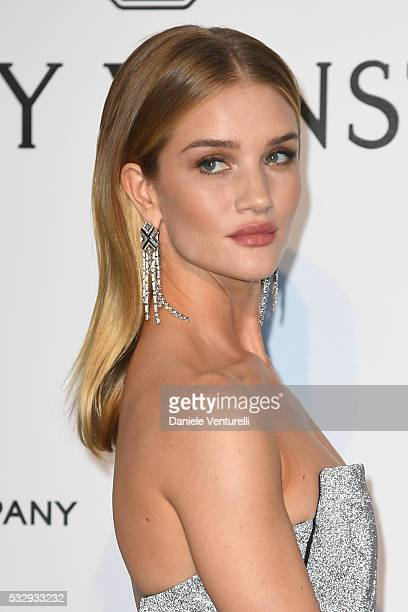 Rosie HuntingtonWhiteley attends the amfAR's 23rd Cinema Against AIDS Gala at Hotel du CapEdenRoc on May 19 2016 in Cap d'Antibes
