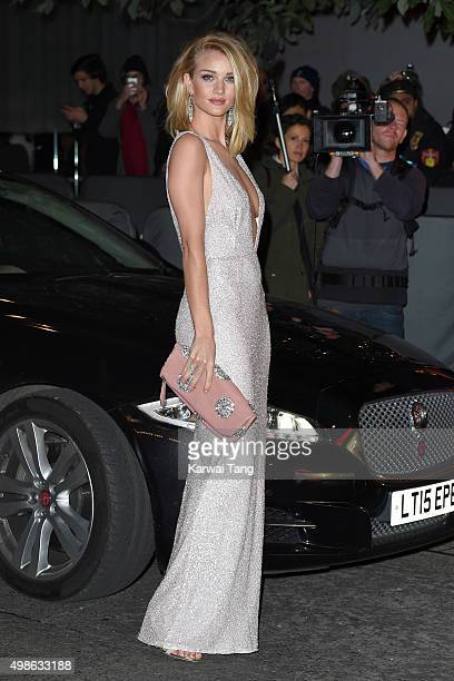 Rosie HuntingtonWhiteley attends the British Fashion Awards 2015 at London Coliseum on November 23 2015 in London England