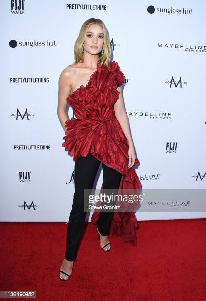 Rosie HuntingtonWhiteley attends the Daily Front Row's 5th Annual Fashion Los Angeles Awards at Beverly Hills Hotel on March 17 2019 in Beverly Hills...