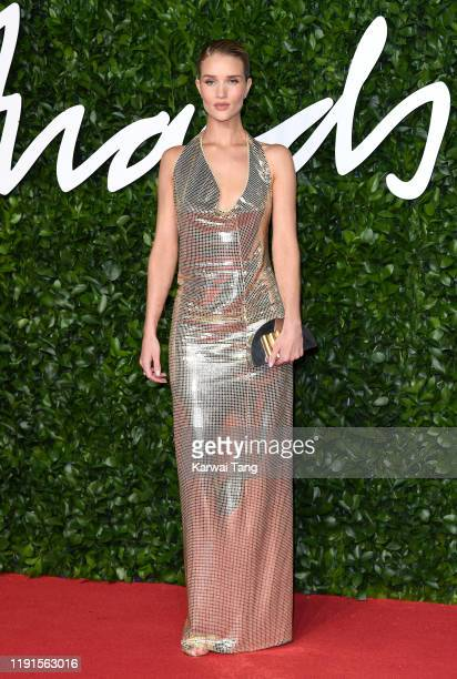 Rosie HuntingtonWhiteley attends The Fashion Awards 2019 at the Royal Albert Hall on December 02 2019 in London England