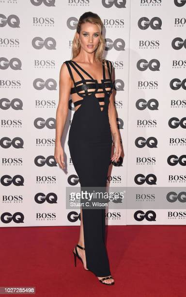 Rosie HuntingtonWhiteley attends the GQ Men of the Year awards at the Tate Modern on September 5 2018 in London England
