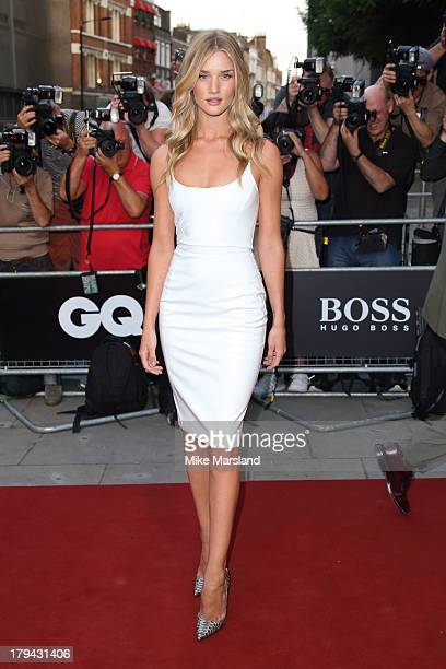 Rosie HuntingtonWhiteley attends the GQ Men of the Year awards at The Royal Opera House on September 3 2013 in London England