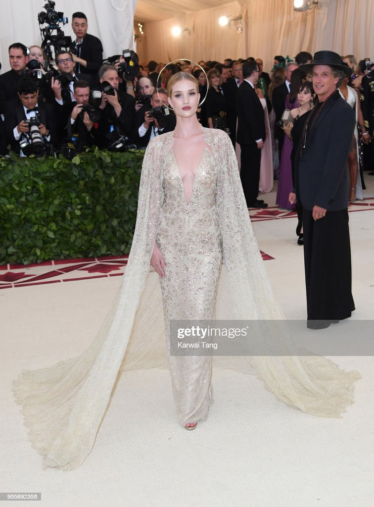 Heavenly Bodies: Fashion & The Catholic Imagination Costume Institute Gala : News Photo