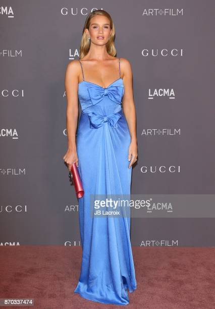 Rosie Huntington-Whiteley attends the LACMA Art + Film Gala honoring Mark Bradford and George Lucas on November 04, 2017 in Los Angeles, California.