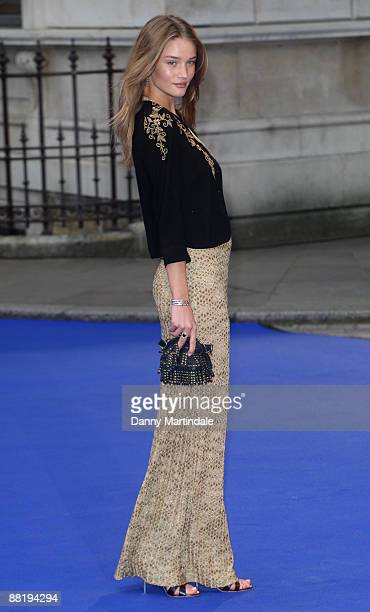 Rosie Huntington-Whiteley attends the Royal Academy of Arts Summer Exhibition at Royal Academy of Arts on June 3, 2009 in London, England.