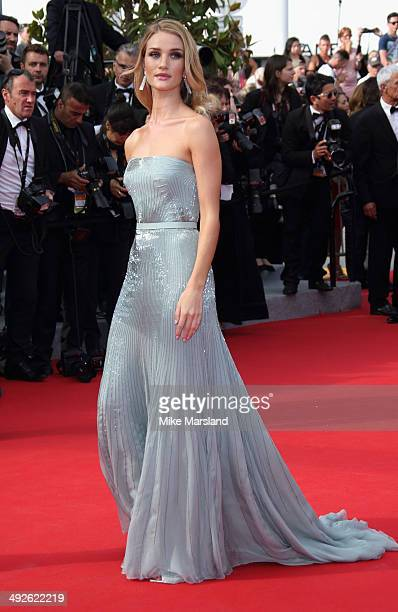 Rosie HuntingtonWhiteley attends The Search Premiere at the 67th Annual Cannes Film Festival on May 21 2014 in Cannes France