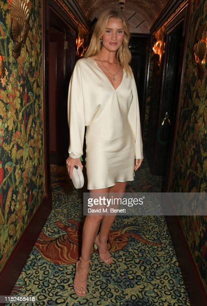 Rosie HuntingtonWhiteley attends Virgil Abloh Live in The Nightclub at Annabel's on June 27 2019 in London England