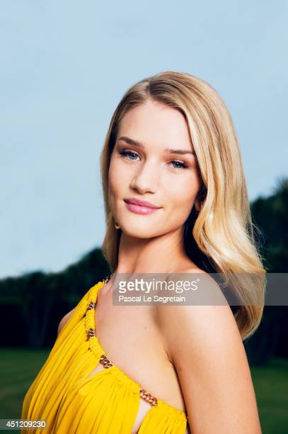 Rosie HuntingtonWhiteley is photographed at AmfAR's 21st Cinema Against AIDS Gala on May 22 2014 in Cap d'Antibes France
