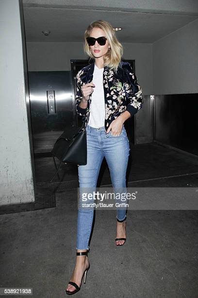 Rosie HuntingtonWhiteley is seen at LAX on June 08 2016 in Los Angeles California