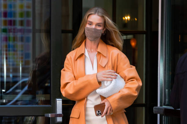 NY: Celebrity Sightings In New York City - April 14, 2021