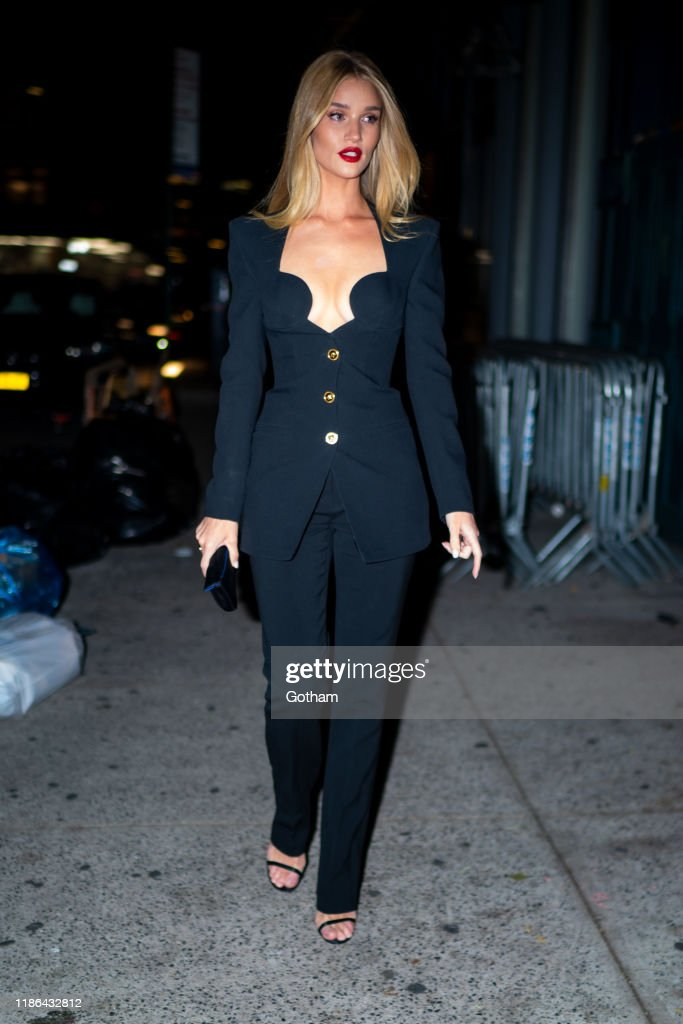 Celebrity Sightings In New York City - November 08, 2019 : News Photo