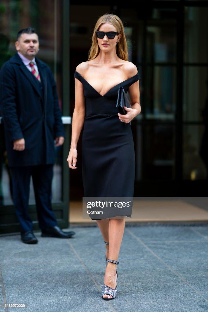 Celebrity Sightings In New York City - November 09, 2019 : News Photo