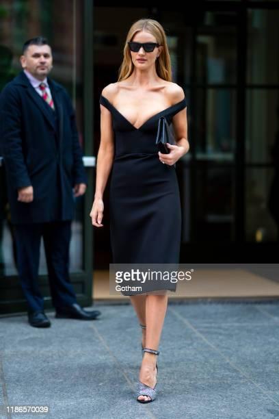 Rosie Huntington-Whiteley is seen in SoHo on November 09, 2019 in New York City.