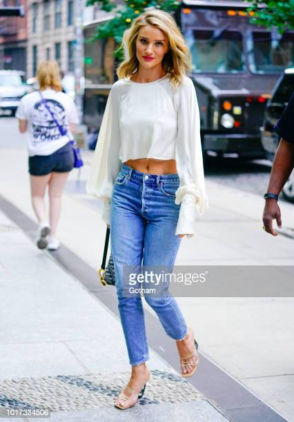 Rosie HuntingtonWhiteley is seen on August 15 2018 in New York City