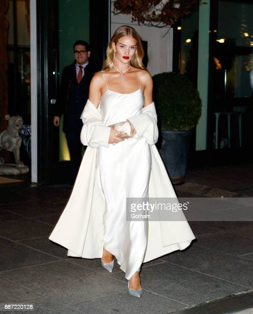 Rosie HuntingtonWhiteley is seen on December 6 2017 in New York City
