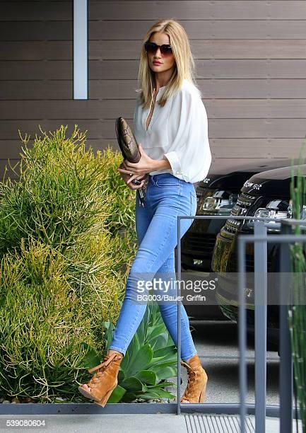 Rosie HuntingtonWhiteley is seen on June 09 2016 in Los Angeles California