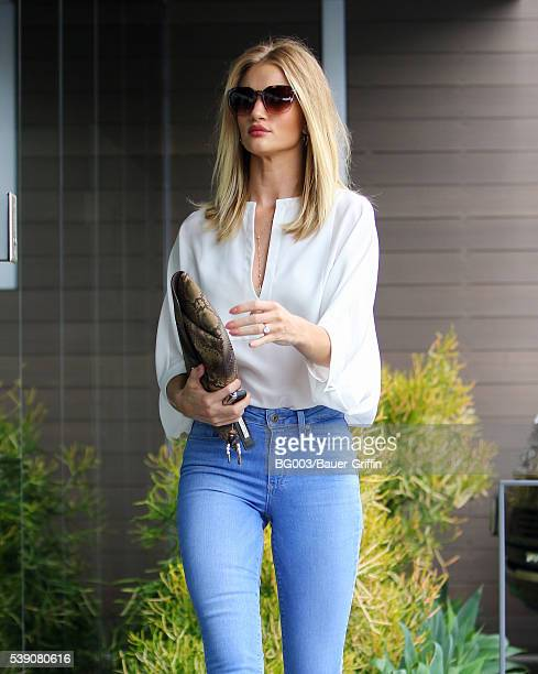 Rosie HuntingtonWhiteley is seen on June 09 2016 in Los Angeles California