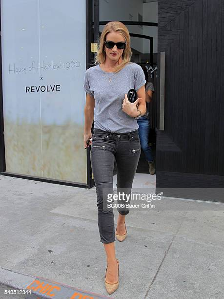 Rosie HuntingtonWhiteley is seen on June 28 2016 in Los Angeles California