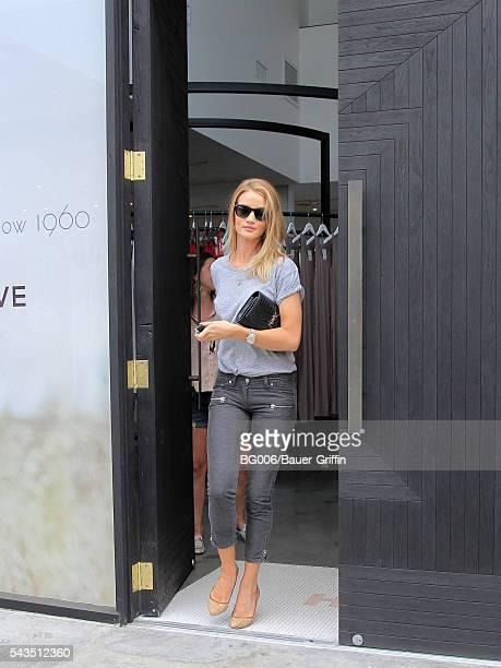 Rosie HuntingtonWhiteley is seen on June 28 2016 in Los Angeles California