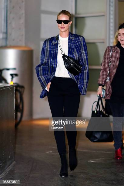 Rosie HuntingtonWhiteley is seen on March 26 2018 in New York City