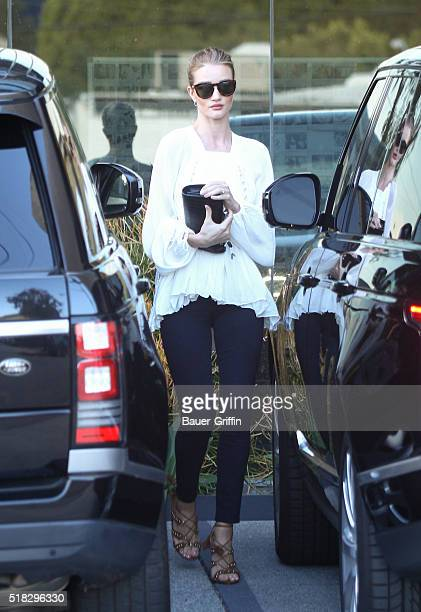 Rosie HuntingtonWhiteley is seen on March 30 2016 in Los Angeles California