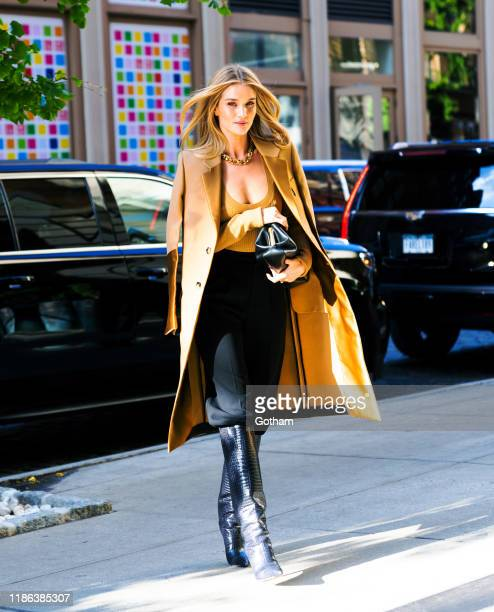 Rosie HuntingtonWhiteley out and about on November 08 2019 in New York City