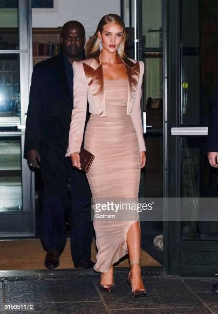 Rosie HuntingtonWhiteley seen on February 8 2018 in New York City