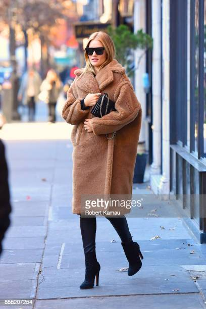 Rosie HuntingtonWhiteley seen out and about in Manhattan on December 7 2017 in New York City