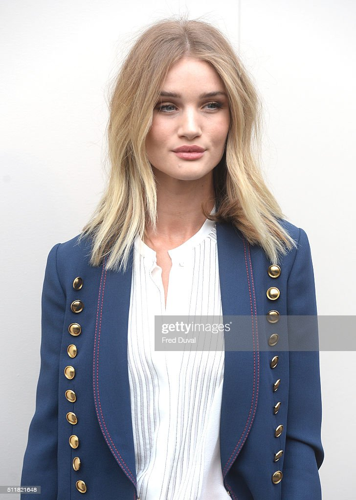 Celebrity Sightings On Day 4 Of London Fashion Week - AW16 : News Photo