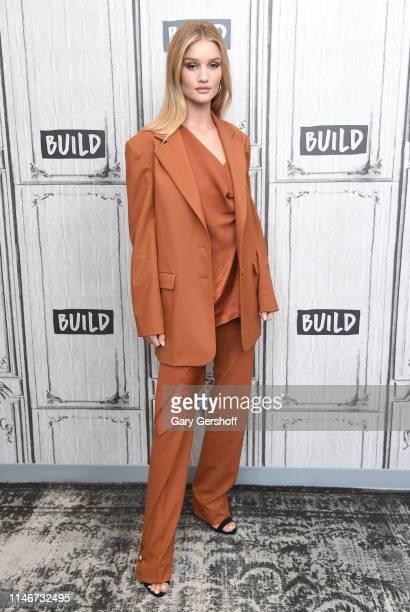 Rosie HuntingtonWhiteley visits the Build Series to discuss the digital platform Rose Incat Build Studio on May 03 2019 in New York City