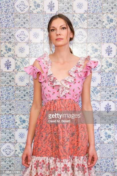 Rosie Lowe at Liberty London Collection launches their debut readytowear line at a runway show at Liberty on June 12 2019 in London England